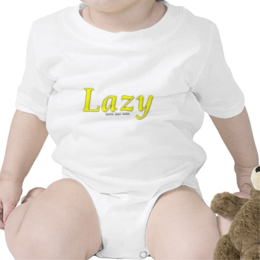 Lazy Logo Infant Creeper