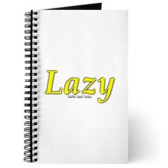 Lazy Logo Journal