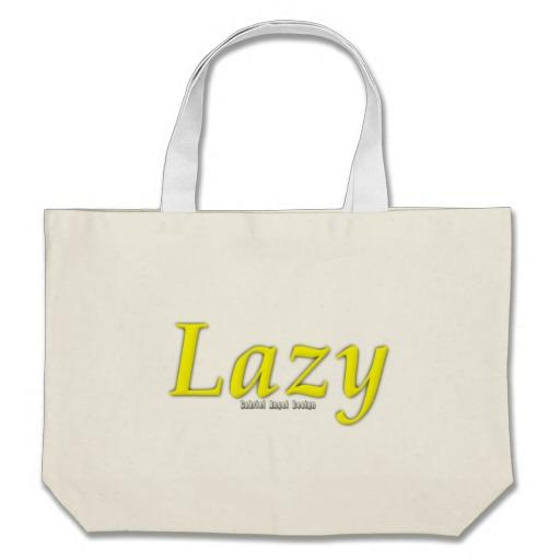 Lazy Logo Jumbo Tote