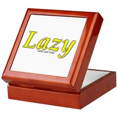 Lazy Logo Keepsake Box