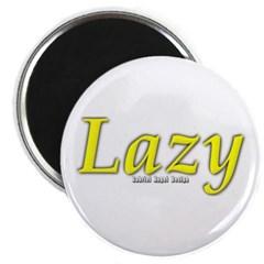 Lazy Logo Magnet
