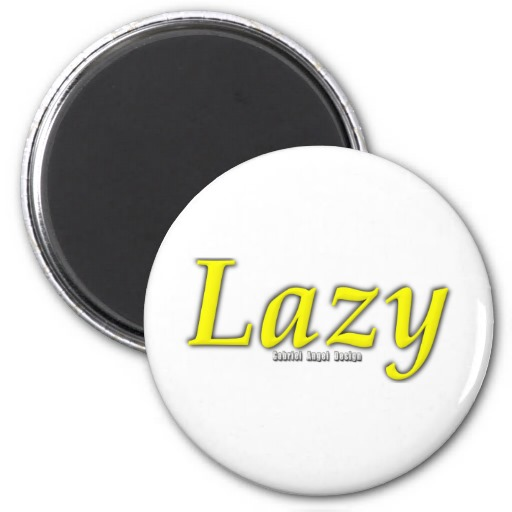 Lazy Logo Magnets