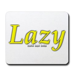 Lazy Logo Mousepad