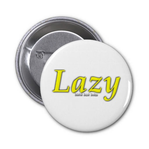Lazy Logo Pinback Buttons