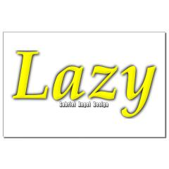 Lazy Logo Small Posters
