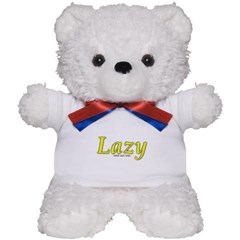 Lazy Logo Teddy Bear