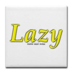 Lazy Logo Tile Coaster