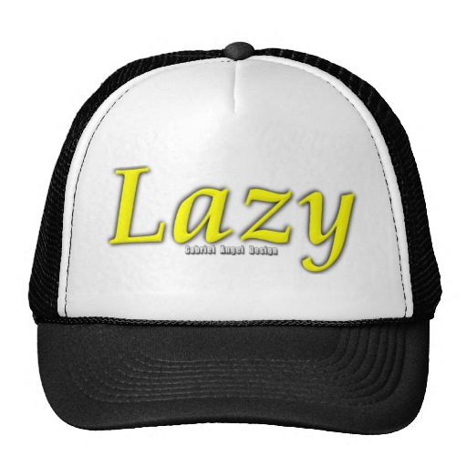 Lazy Logo Trucker Hat