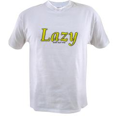 Lazy Logo Value T-shirt