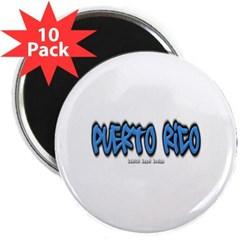 "Puerto Rico Graffiti 2.25"" Magnet (10 pack)"
