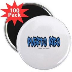 "Puerto Rico Graffiti 2.25"" Magnet (100 pack)"