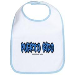 Puerto Rico Graffiti Baby Bib