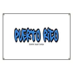 Puerto Rico Graffiti Banner