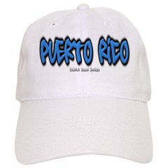 Puerto Rico Graffiti Baseball Cap