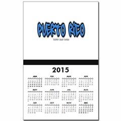 Puerto Rico Graffiti Calendar Print