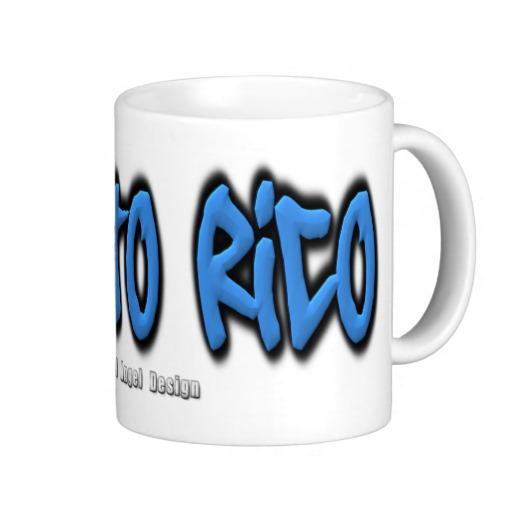 Puerto Rico Graffiti Classic White Mug