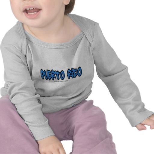 Puerto Rico Graffiti Infant Bella Long Sleeve T-Shirt