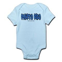 Puerto Rico Graffiti Infant Bodysuit