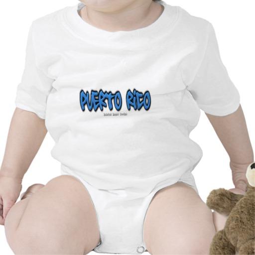 Puerto Rico Graffiti Infant Creeper