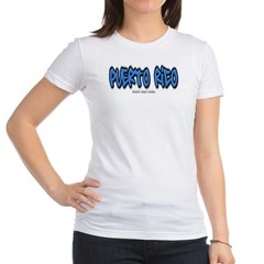 Puerto Rico Graffiti Junior Jersey T-Shirt