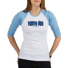 Puerto Rico Graffiti Junior Raglan T-shirt