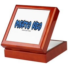Puerto Rico Graffiti Keepsake Box