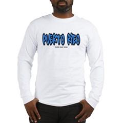Puerto Rico Graffiti Long Sleeve T-Shirt