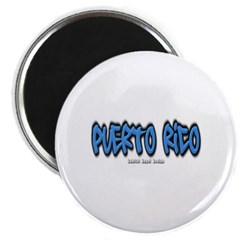 Puerto Rico Graffiti Magnet