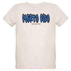 Puerto Rico Graffiti Organic Kids T-Shirt