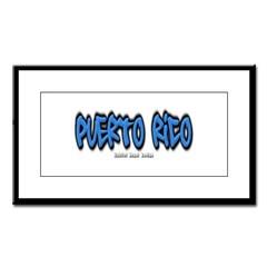 Puerto Rico Graffiti Small Framed Print