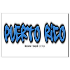 Puerto Rico Graffiti Small Posters