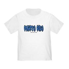 Puerto Rico Graffiti Toddler T-Shirt