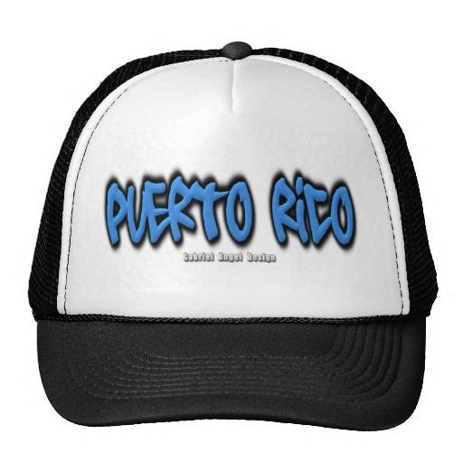 Puerto Rico Graffiti Trucker Hat