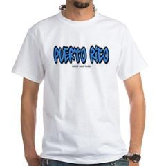 Puerto Rico Graffiti White T-Shirt