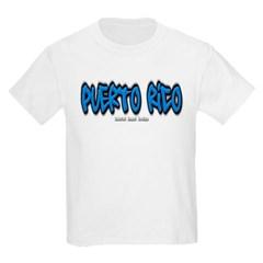 Puerto Rico Graffiti Youth T-Shirt by Hanes