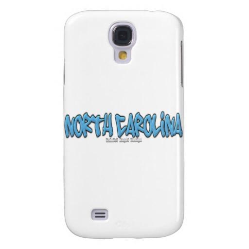 North Carolina Graffiti Case-Mate Barely There Samsung Galaxy S4 Case