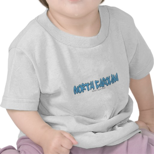 North Carolina Graffiti Infant T-Shirt