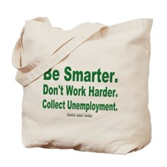Collect Unemployment Canvas Tote Bag