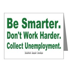 Collect Unemployment Note Cards (Pk of 10)