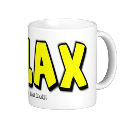 Relax Classic White Mug