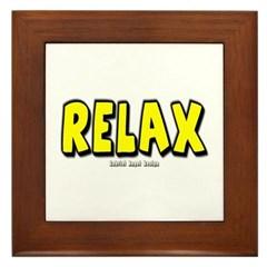 Relax Framed Tile