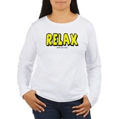 Relax Women's Long Sleeve T-Shirt