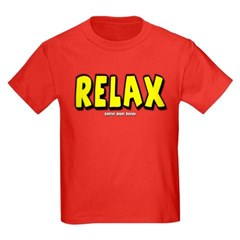 Relax Youth Dark T-Shirt by Hanes
