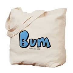 Bum Canvas Tote Bag