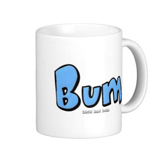 Bum Classic White Mug