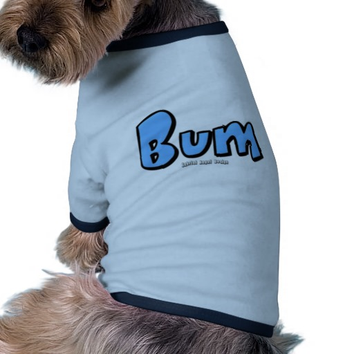 Bum Doggie Ringer T-Shirt