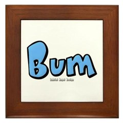 Bum Framed Tile