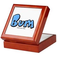 Bum Keepsake Box