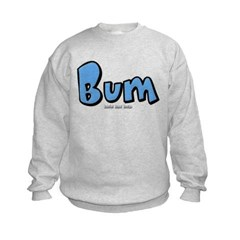 Bum Kids Crewneck Sweatshirt by Hanes