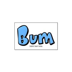 Bum Large Posters